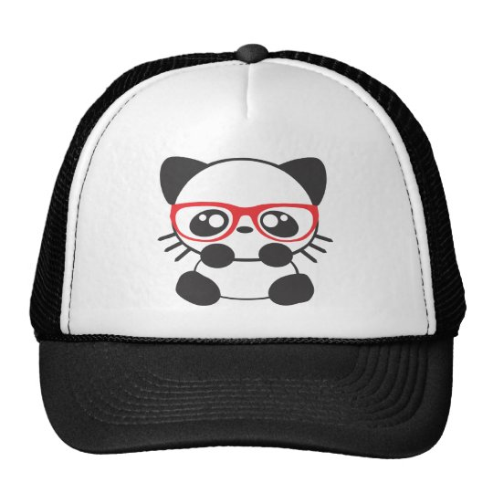 Nerd Cat Trucker Hat