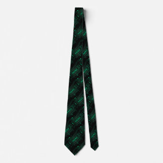 Nerd concept. neck tie