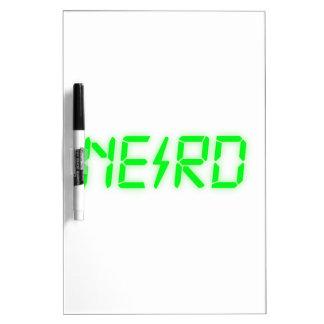 Nerd Dry Erase White Board