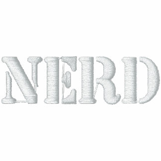 Nerd Embroidered Polo