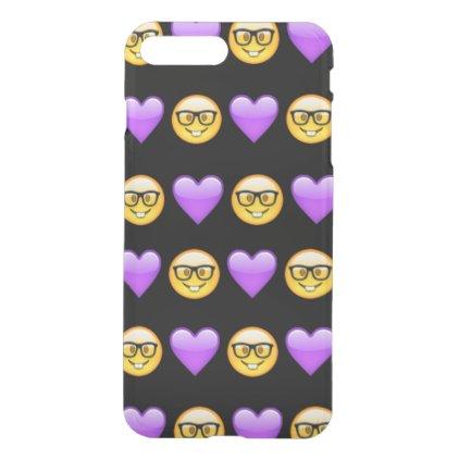 Nerd Emoji iPhone 7 Plus Clearly™ Case