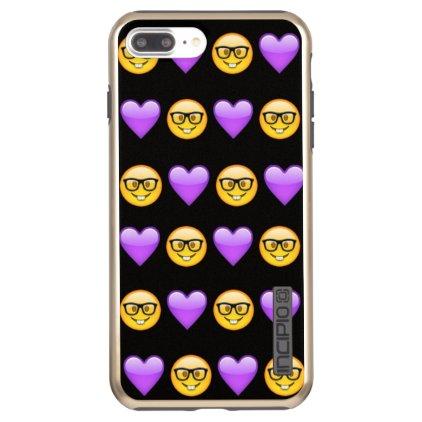 Nerd Emoji iPhone 7 Plus Incipio Incipio DualPro Shine iPhone 7 Plus Case