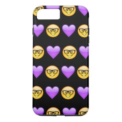 Nerd Emoji iPhone 7 Plus Phone Case