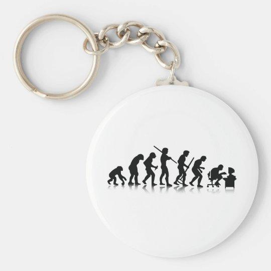 Nerd Evolution Keychain