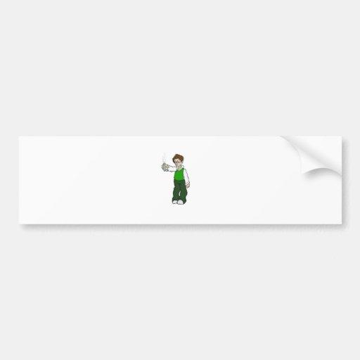 nerd experiment 1_1 bumper stickers