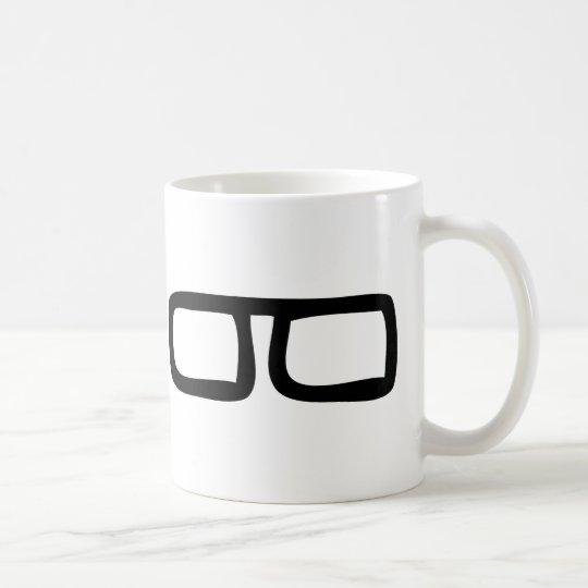 nerd eyeglasses coffee mug