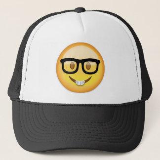 Nerd Face Emoji Trucker Hat