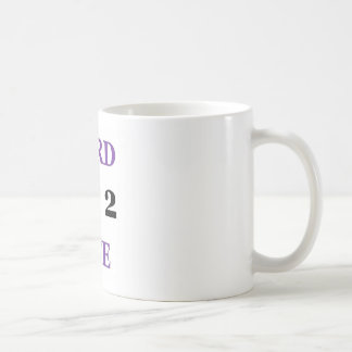 Nerd full coffee mug
