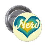 Nerd Girl Pin