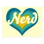 Nerd Girl Postcard
