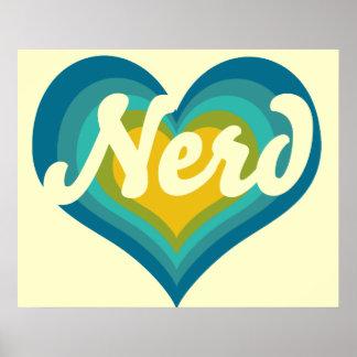 Nerd Girl Posters