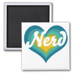 Nerd Girl Refrigerator Magnets