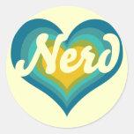 Nerd Girl Stickers