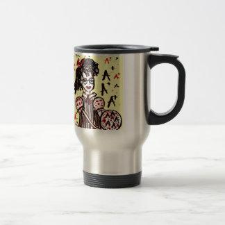 nerd girl travel mug