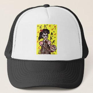 nerd girl trucker hat