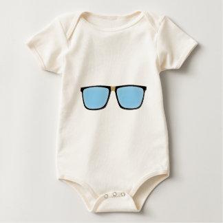 Nerd Glasses Baby Bodysuit