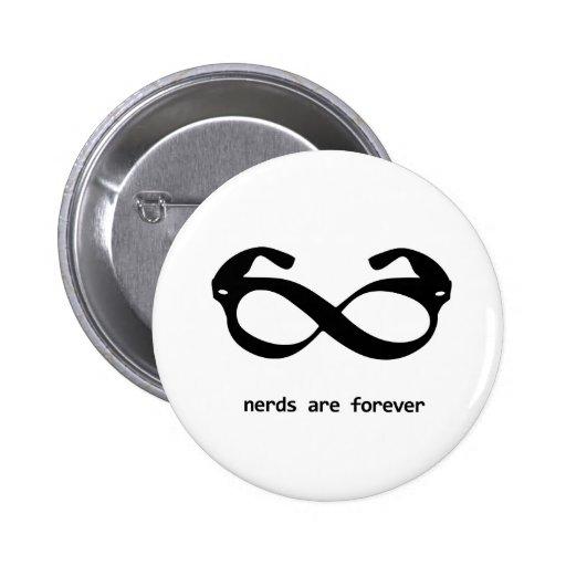 nerd glasses button