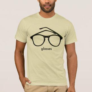 Nerd Glasses pink mens semi fitted tshirt