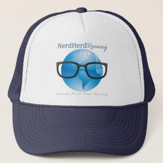 Nerd Herd Running Trucker Hat