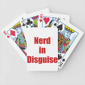 Nerd in Disguise Bicycle Poker Deck
