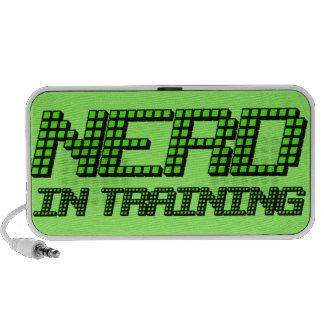 Nerd in Training Mp3 Speakers