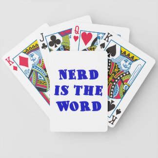 Nerd is the Word Deck Of Cards