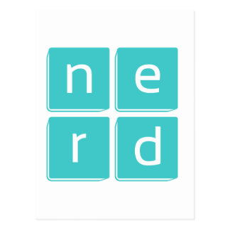 Nerd is the Word Post Cards
