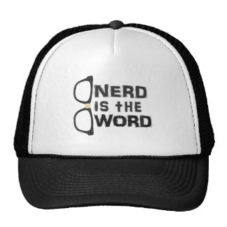 Nerd is the Word Trucker Hat