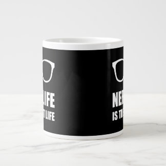 Nerd Life Best Life Large Coffee Mug