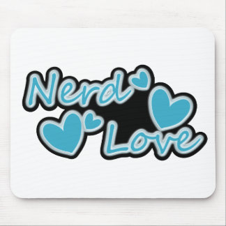 Nerd Love Mouse Pad