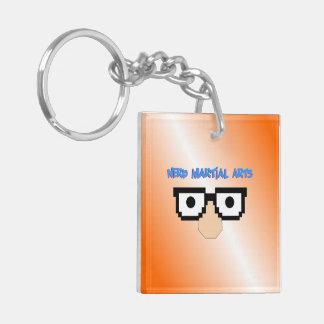 Nerd Martial Arts Orange Keychain