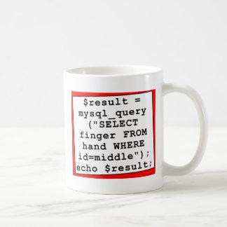 Nerd Mug - Funny Computer Programmer - mySql