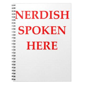 NERD NOTEBOOK