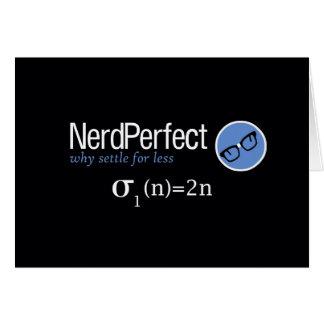 Nerd Perfect Cards