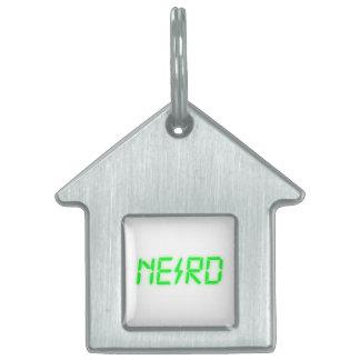 Nerd Pet Name Tags