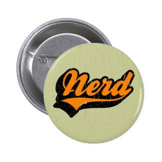 Nerd Pinback Button