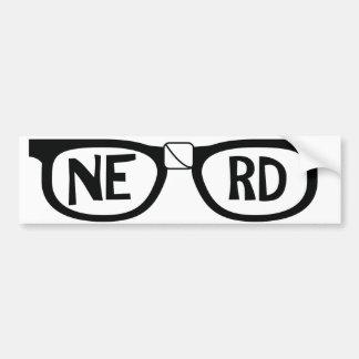 Nerd Pride Bumper Sticker