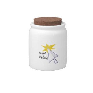 Nerd & Proud Candy Jar