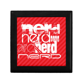 Nerd; Scarlet Red Stripes Gift Box