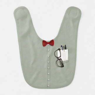 Nerd Shirt Costume Bib