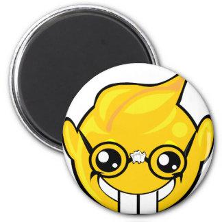 nerd smiley face magnet