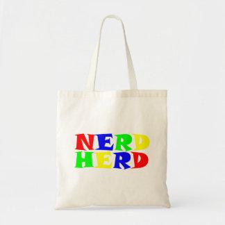 nerd stove tote bag