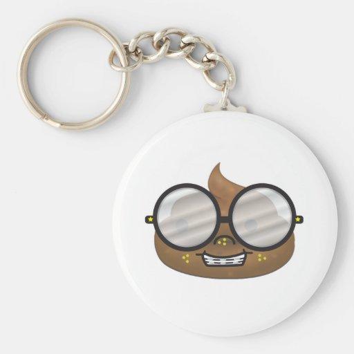 nerd turd key chains