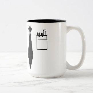 Nerd Uniform Two-Tone Coffee Mug