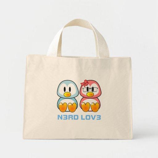 Nerd Valentine: Computer Geek Leet Speak Love Tote Bags