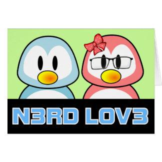 Nerd Valentine: Computer Geek Leet Speak Love Card