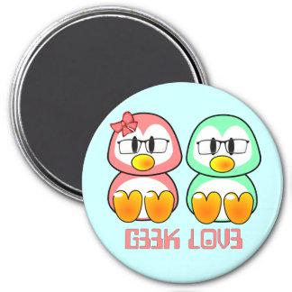 Nerd Valentine: Computer Geek Leet Speak Love Fridge Magnet