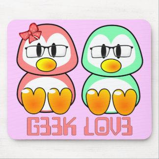 Nerd Valentine: Computer Geek Leet Speak Love Mouse Pad