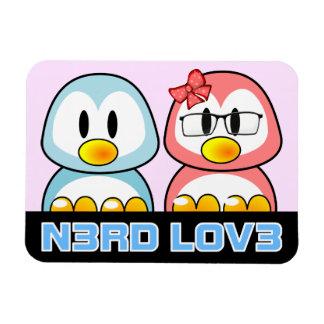 Nerd Valentine: Computer Geek Leet Speak Love Flexible Magnet