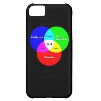 Nerd Venn Diagram iPhone 5 case
